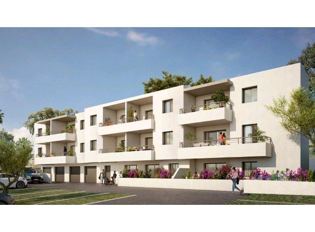 Programme immobilier loi Pinel Les Jardins de Vignetta à Ajaccio