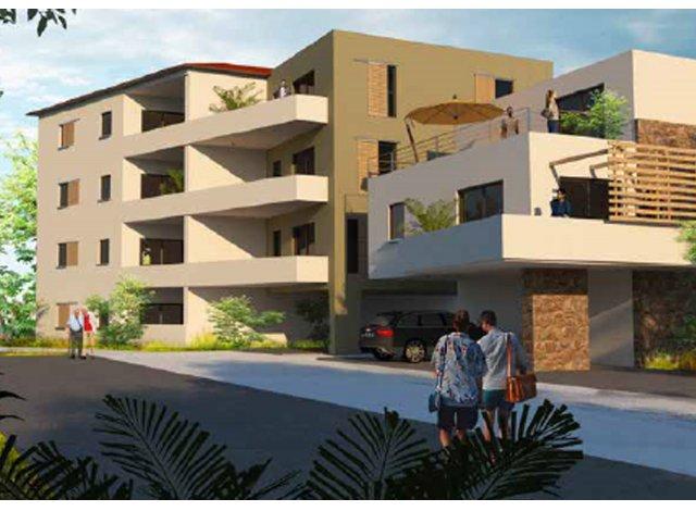 Programme immobilier neuf éco-habitat Residence Elisa à Calvi
