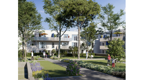Programme immobilier loi Pinel Bleu d'Eole à Gigean