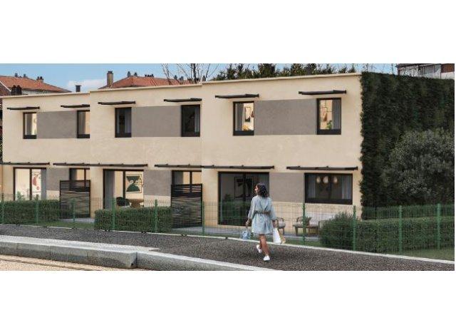 Éco habitat éco-habitat Maison les Hauts de Chaprais à Besançon
