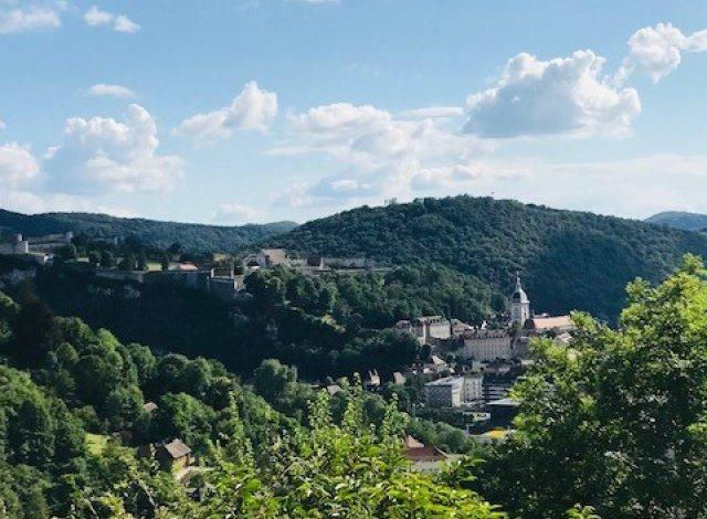 Éco habitat éco-habitat Vue Citadelle à Besançon