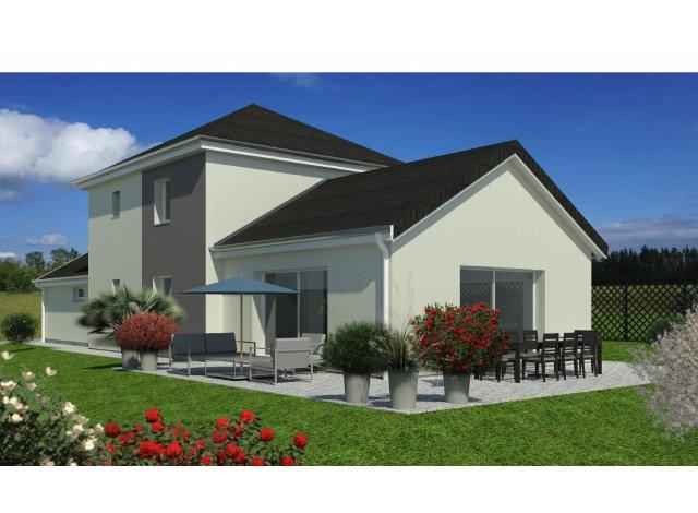 Éco habitat éco-habitat Maison Châtillon-le-Duc à Châtillon-le-Duc