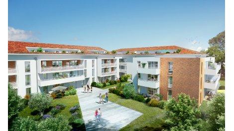 Écohabitat immobilier neuf éco-habitat Balma Les Jardins de Joséphine
