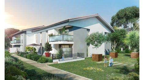 Immobilier neuf éco-habitat Les Bastides de Croix-Bénite à Toulouse