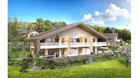Écohabitat immobilier neuf éco-habitat Le Domaine du Chateau