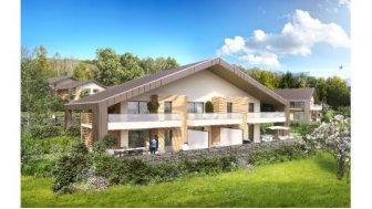 Eco habitat programme Le Domaine du Chateau Pringy