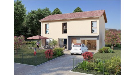 Appartements et maisons neuves Domaine de Grand Champ éco-habitat à Jarrie