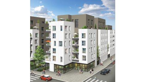 Programme immobilier neuf éco-habitat Vertes Allées à Villeurbanne