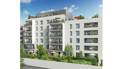 Programme immobilier loi Pinel Côté Parcs à Villeurbanne