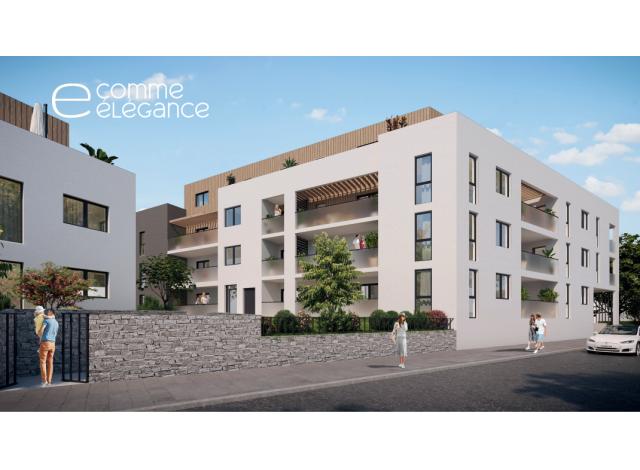 Programme immobilier neuf éco-habitat Echo à Craponne