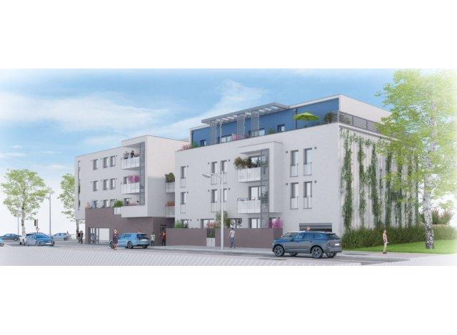 Programme immobilier neuf éco-habitat L'Inattendu à Francheville