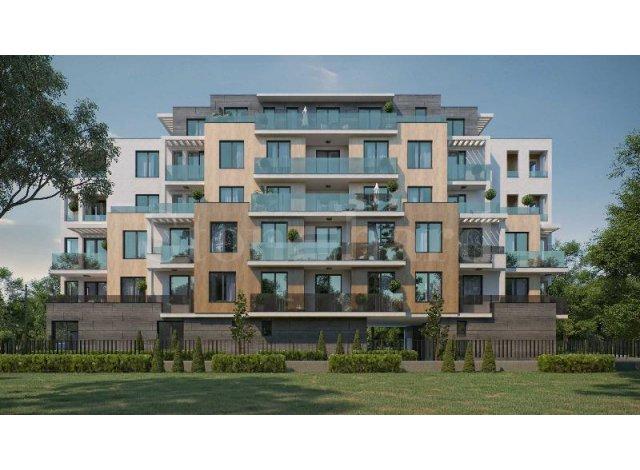 Programme immobilier loi Pinel L'Ecrin Zen à Lyon 3ème