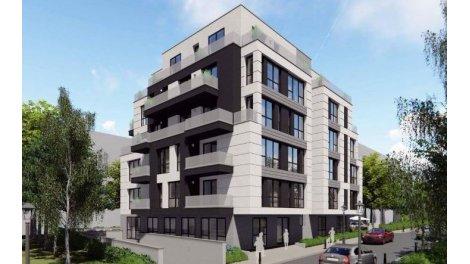 Eco habitat programme Les Terrasses du 8ème Lyon 8ème