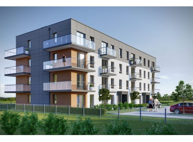 Programme immobilier loi Pinel Bulle de Soie à Vaulx-en-Velin