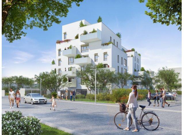 Programme immobilier neuf éco-habitat Parallèles à Villeurbanne