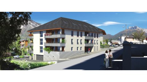 Éco habitat éco-habitat Le Clos de la Roussanne à Saint-Pierre-d'Albigny