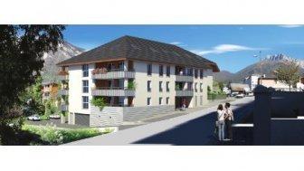 Eco habitat programme Le Clos de la Roussanne Saint-Pierre-d'Albigny