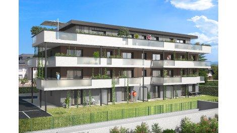 Programme immobilier neuf O'Divine éco-habitat à Divonne-les-Bains