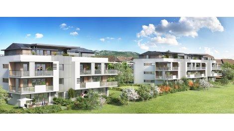 Appartement neuf Le Collogny éco-habitat à Cessy