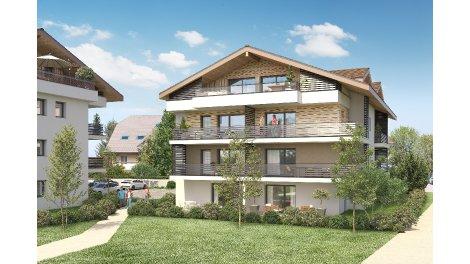 Programme immobilier loi Pinel Villas Alexandre à Feigeres