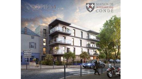Programme immobilier loi Pinel Maison de Condé à Longvic