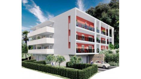 Programme immobilier neuf éco-habitat Terre de Sienne à Nice