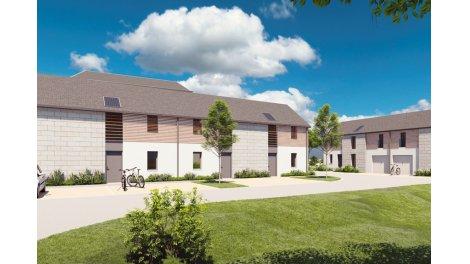 Maisons neuves éco-habitat Le Clos Mesnil à Vernou-sur-Brenne
