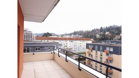 Appartement neuf Dôme Impérial éco-habitat à Besançon