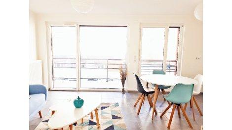 Appartement neuf Beauregard éco-habitat à Besançon