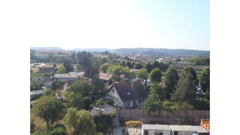 Appartement neuf Résidence Nalanda éco-habitat à Besançon