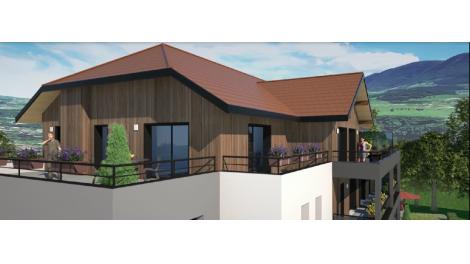 Écohabitat immobilier neuf éco-habitat Besançon Résidence Terrasse du Parmelan