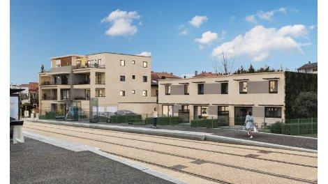 Appartements et maisons neuves éco-habitat Les Hauts des Chaprais à Besançon