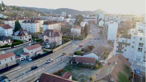 Programme immobilier neuf éco-habitat Résidence Quartier Chaprais à Besançon