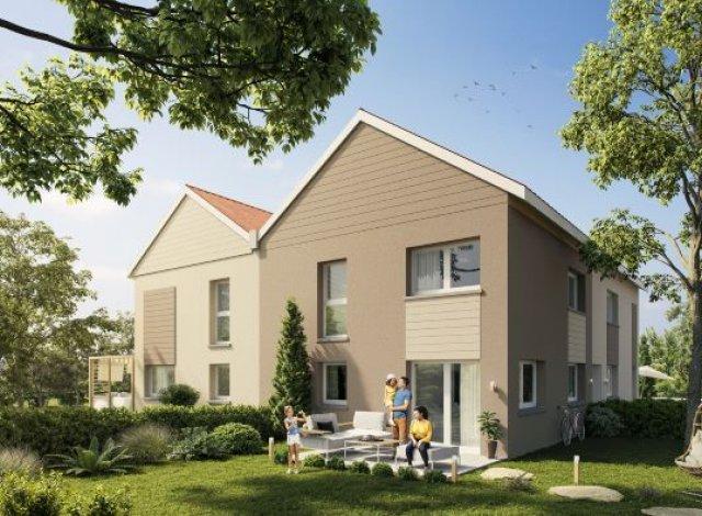Éco habitat éco-habitat Les Duplex-Jardins à Dijon à Marcilly-sur-Tille