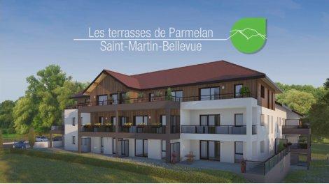 Écohabitat immobilier neuf éco-habitat Les Terrasses de Parmelan