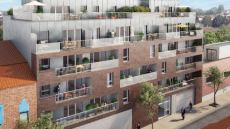 Programme immobilier loi Pinel 113 Plazza à Croix