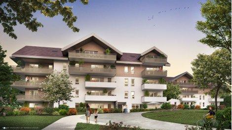Programme immobilier loi Pinel Le Parc de Clavière à Poisy