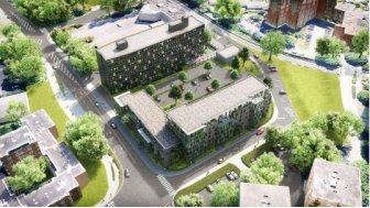 Eco habitat programme Le Croisé d'Ascq Villeneuve-d'Ascq