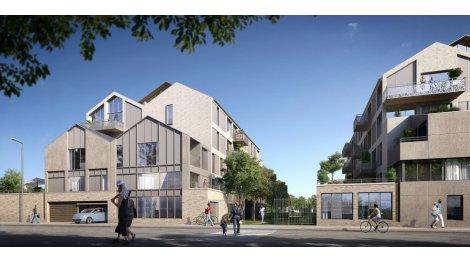 Programme immobilier neuf éco-habitat Résidence Jardin Botanique à La Riche