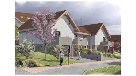 Éco habitat éco-habitat Ensemble Résidentiel Coeur du Village de Mesigny à Mésigny
