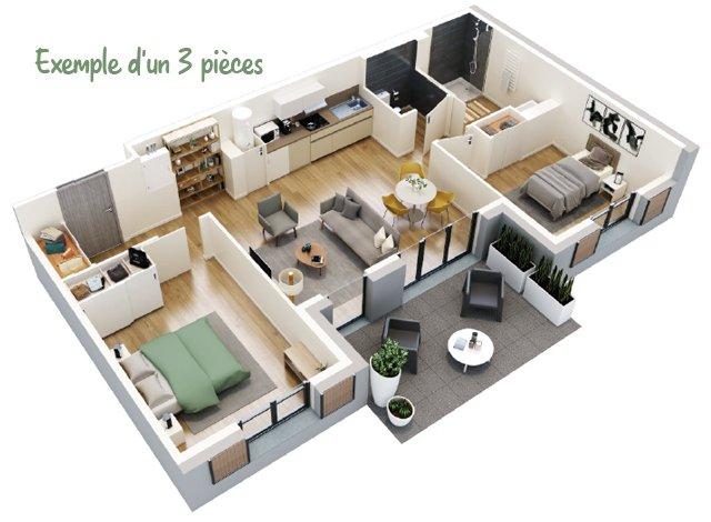 Appartement écologique Reims