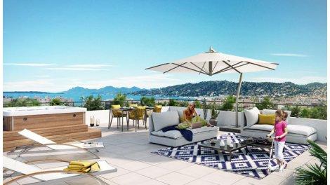 Programme immobilier loi Pinel Antibes Juan les Pins - 7495 à Antibes