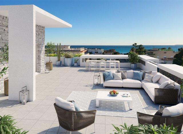 Programme immobilier loi Pinel Cagnes/mer - 7975 à Cagnes-sur-Mer
