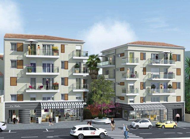 Programme immobilier neuf éco-habitat Les Nabis - 5723 à Le Cannet