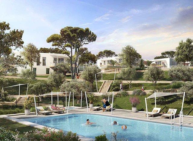 Programme immobilier loi Pinel Le Lavandou - 7662 à Le Lavandou