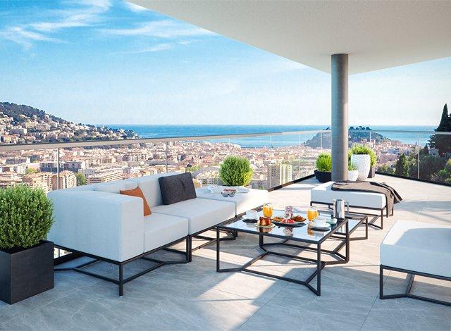 Programme immobilier neuf éco-habitat Nice - 7157 à Nice
