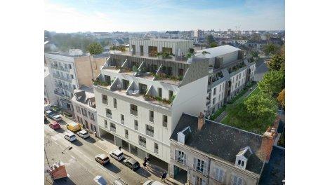 Éco habitat éco-habitat Résidence le 125 Faubourg à Orléans