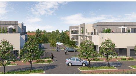 Appartement neuf Les Jardins des Lys éco-habitat à Saint-Jean-le-Blanc