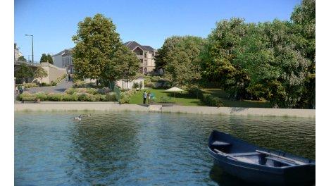 Maisons neuves Parc Belles Rives éco-habitat à Olivet