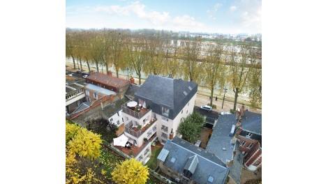 Appartement neuf La Capitainerie éco-habitat à Orléans